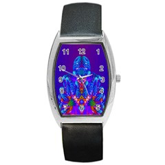 Insect Tonneau Leather Watch by icarusismartdesigns