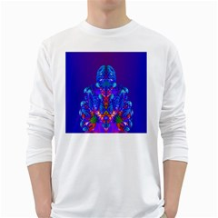 Insect Men s Long Sleeve T Shirt (white) by icarusismartdesigns