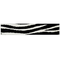 Black White Tiger  Flano Scarf (large) by OCDesignss