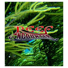 Reef Encounter Draw Bag By Dean   Drawstring Pouch (large)   Rbsnhhfywh2z   Www Artscow Com Back