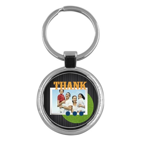 Fathers Day By Dad   Key Chain (round)   Bmr8a2gfkaoq   Www Artscow Com Front