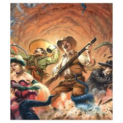 Shadows Of Brimstone Small Storage Bag By Dean   Drawstring Pouch (small)   Gu8rs7b04jxv   Www Artscow Com Front