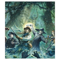 Shadows Of Brimstone Small Storage Bag 2 By Dean   Drawstring Pouch (small)   5wty0rdr2qrz   Www Artscow Com Front