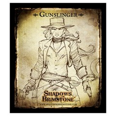 Shadows Of Brimstone Small Storage Bag 2 By Dean   Drawstring Pouch (small)   5wty0rdr2qrz   Www Artscow Com Back