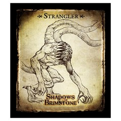 Shadows Of Brimstone Small Storage Bag 3 By Dean   Drawstring Pouch (small)   Tjjauthhw765   Www Artscow Com Back
