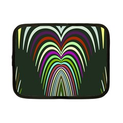 Symmetric Waves Netbook Case (small) by LalyLauraFLM