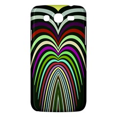 Symmetric Waves Samsung Galaxy Mega 5 8 I9152 Hardshell Case  by LalyLauraFLM