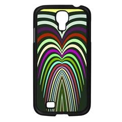 Symmetric Waves Samsung Galaxy S4 I9500/ I9505 Case (black) by LalyLauraFLM