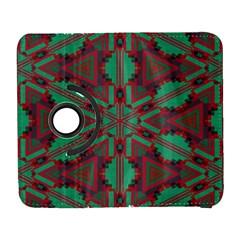 Green Tribal Star Samsung Galaxy S  Iii Flip 360 Case by LalyLauraFLM