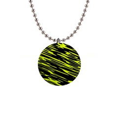 Camouflage 1  Button Necklace by LalyLauraFLM