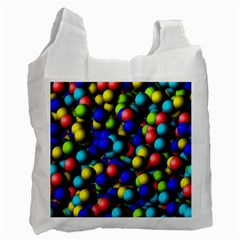 Colorful Balls Recycle Bag (one Side) by LalyLauraFLM