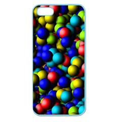 Colorful Balls Apple Seamless Iphone 5 Case (color) by LalyLauraFLM