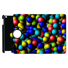 Colorful Balls Apple Ipad 3/4 Flip 360 Case by LalyLauraFLM