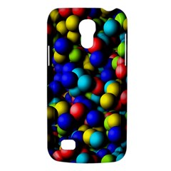 Colorful Balls Samsung Galaxy S4 Mini (gt I9190) Hardshell Case  by LalyLauraFLM
