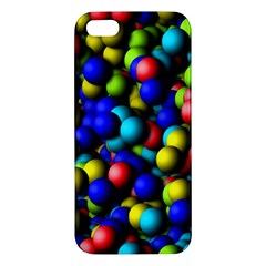 Colorful Balls Iphone 5s Premium Hardshell Case by LalyLauraFLM