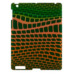 Distorted Rectangles Apple Ipad 3/4 Hardshell Case by LalyLauraFLM