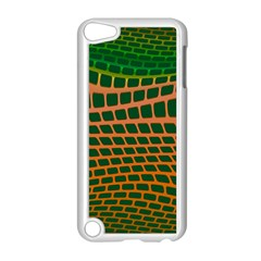 Distorted Rectangles Apple Ipod Touch 5 Case (white) by LalyLauraFLM