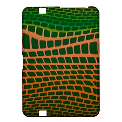 Distorted Rectangles Kindle Fire Hd 8 9  Hardshell Case by LalyLauraFLM
