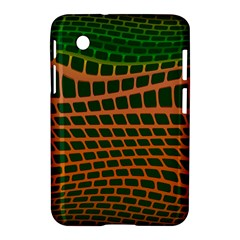 Distorted Rectangles Samsung Galaxy Tab 2 (7 ) P3100 Hardshell Case  by LalyLauraFLM