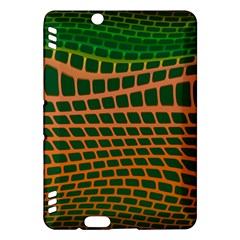 Distorted Rectangles Kindle Fire Hdx Hardshell Case by LalyLauraFLM