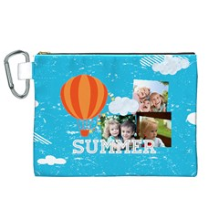 Summer By Summer Time    Canvas Cosmetic Bag (xl)   Zb3wav1rvibx   Www Artscow Com Front