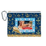 summer - Canvas Cosmetic Bag (Large)