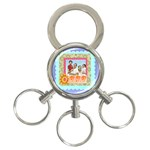 dad - 3-Ring Key Chain