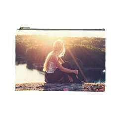 Boho Blonde Cosmetic Bag (large) by boho