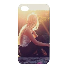 Boho Blonde Apple Iphone 4/4s Premium Hardshell Case by boho