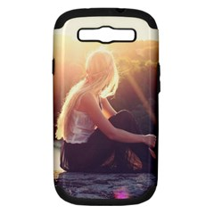 Boho Blonde Samsung Galaxy S Iii Hardshell Case (pc+silicone) by boho