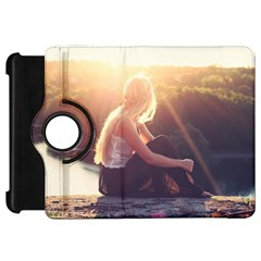 Boho Blonde Kindle Fire Hd Flip 360 Case by boho