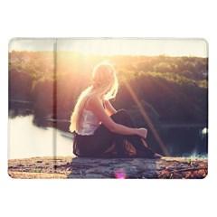 Boho Blonde Samsung Galaxy Tab 10 1  P7500 Flip Case by boho