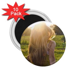 Sophia 2 25  Button Magnet (10 Pack) by boho
