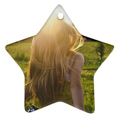 Sophia Star Ornament (Two Sides) by boho