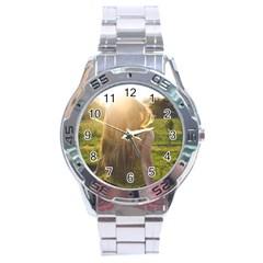 Sophia Stainless Steel Watch by boho