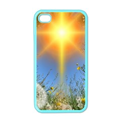 Dandelions Apple Iphone 4 Case (color) by boho