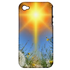 Dandelions Apple Iphone 4/4s Hardshell Case (pc+silicone) by boho