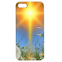 Dandelions Apple Iphone 5 Hardshell Case With Stand by boho