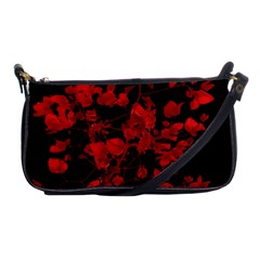 Dark Red Flower Evening Bag by dflcprints