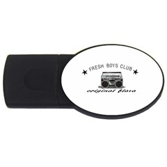 original fresh 4GB USB Flash Drive (Oval) by freshboysclub