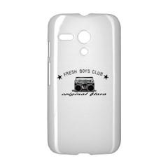 original fresh Motorola Moto G Hardshell Case by freshboysclub