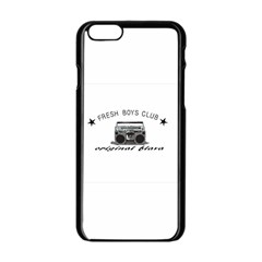 Original Fresh Apple Iphone 6 Black Enamel Case by freshboysclub