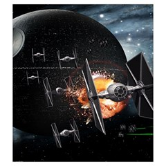 X Wing Imperial By Dean   Drawstring Pouch (medium)   Atirc6t671ku   Www Artscow Com Back