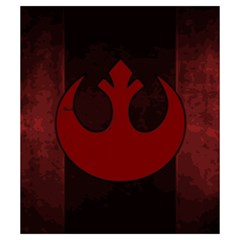 X Wing Rebel Small By Dean   Drawstring Pouch (small)   3pdeyvivb80t   Www Artscow Com Front