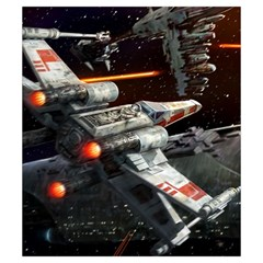 X Wing Rebel Small By Dean   Drawstring Pouch (small)   3pdeyvivb80t   Www Artscow Com Back