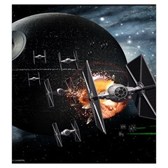 X Wing Imperial Large By Dean   Drawstring Pouch (large)   Mv5u0twvwi35   Www Artscow Com Back