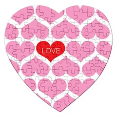 One Love Jigsaw Puzzle (heart)