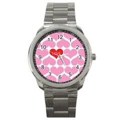 One Love Sport Metal Watch by Kathrinlegg