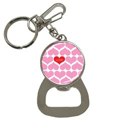 One Love Bottle Opener Key Chain by Kathrinlegg