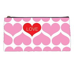 One Love Pencil Case by Kathrinlegg